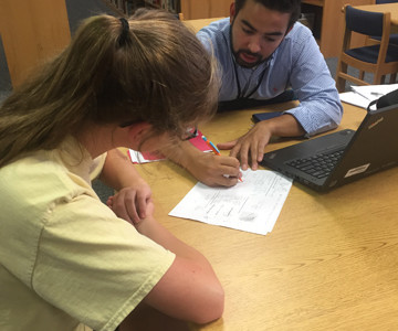 New teacher Eric Bran makes a difference