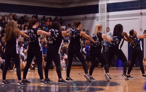 Taking the school by storm, MHS dance team