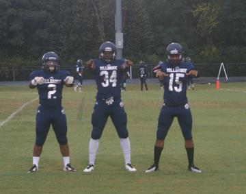 Running backs are key to a strong offense on any football team. Millbrook is blessed with three strong runners: J.J. Walker, Larry Rountree, and Basadar St. Phard.