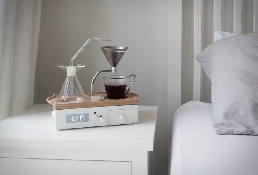 If waking up in the morning is a drag, now there is a creative way to kick start your day with this product. Introducing the first alarm clock called the Barisieur that brews you a cup of coffee as soon as it goes off.