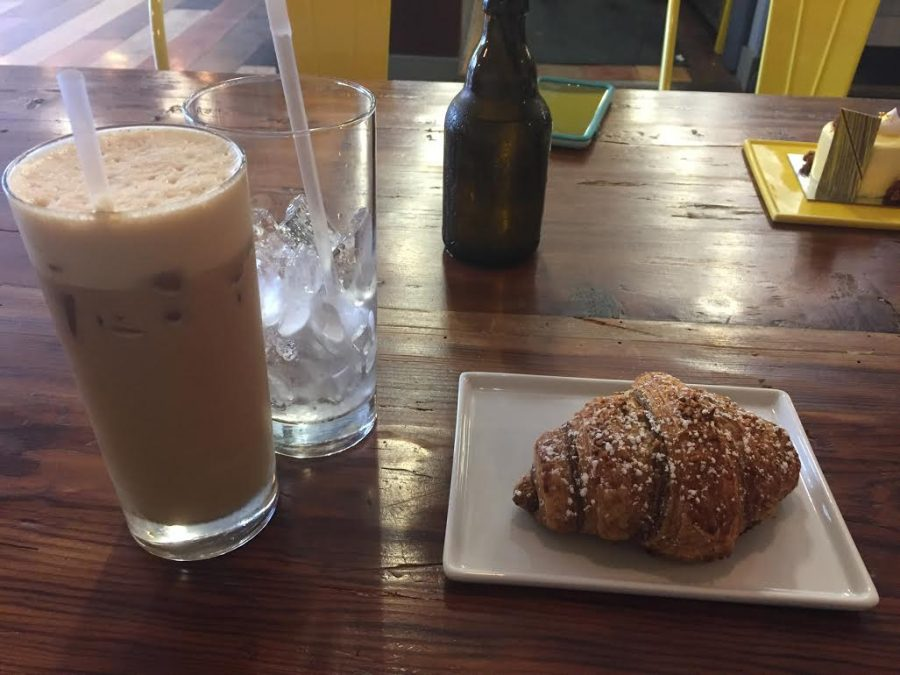 Plated and served right to your table, Lucettegrace's chocolate hazelnut croissant paired with their signature foamy iced coffee is a crowd pleaser. Chef Daniel Benjamin is constantly inventing new pastries to serve at the downtown bakery.