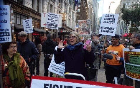 While America begins to fall into a recession in 2013, NYC protesters rally for a higher minimum wage. This fight for low wage workers is slowly starting to get more and more attention as ballot initiatives reinforce direct voting.
