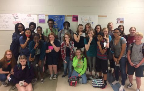 Millbrook students participate in Day of Silence