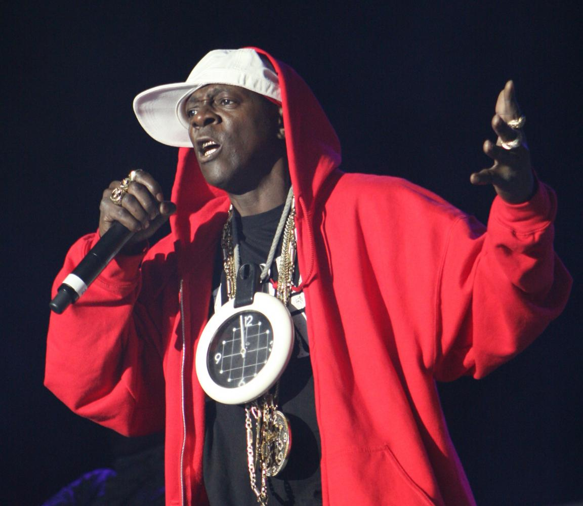 """Performing in front of thousands, Flavor Flav was of the few men from this infamous music group Public Enemy. Public Enemy was one of the most influential Rap groups, especially with their song, """"Fight The Power."""""""
