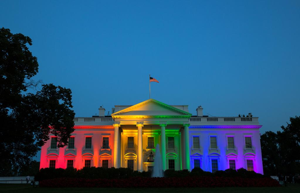 Lit+up+in+victory+for+the+LGBT+community+only+two+short+years+ago%2C+many+feel+President+Trump+is+reversing+strides+made+after+his+latest+tweet+revealed+transgender+people+will+no+longer+be+able+to+serve+in+the+military.+President+Obama+having+only+repealed+the+policy+one+year+ago%2C+many+people+are+unhappy+with+the+decision+to+reinstate+it.