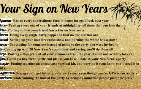 Your Sign on New Year's Eve