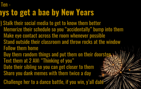 Need a New Year's Eve Date? Better Hurry...