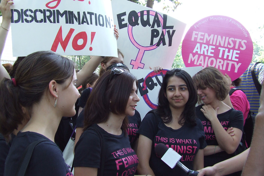 Present at a march for women's rights, several feminists talk about what their message really means. Feminism at its core is simply the want of equality between the sexes, despite what some mainstream media might have you think.