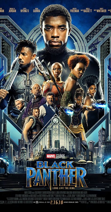 Showing+off+several+of+the+most+prominent+characters+in+Black+Panther%2C+this+movie+portrays+the+story+of+the+African+kingdom+of+Wakanda+and+the+new+king+T%E2%80%99Challa.+T%E2%80%99Challa+must+decide+if+he+wishes+to+help+the+struggling+world+around+him%2C+or+keep+Wakanda+under+the+shield+that+keeps+it+invisible+to+the+outside+world.