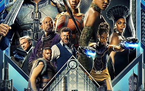 Showing off several of the most prominent characters in Black Panther, this movie portrays the story of the African kingdom of Wakanda and the new king T'Challa. T'Challa must decide if he wishes to help the struggling world around him, or keep Wakanda under the shield that keeps it invisible to the outside world.
