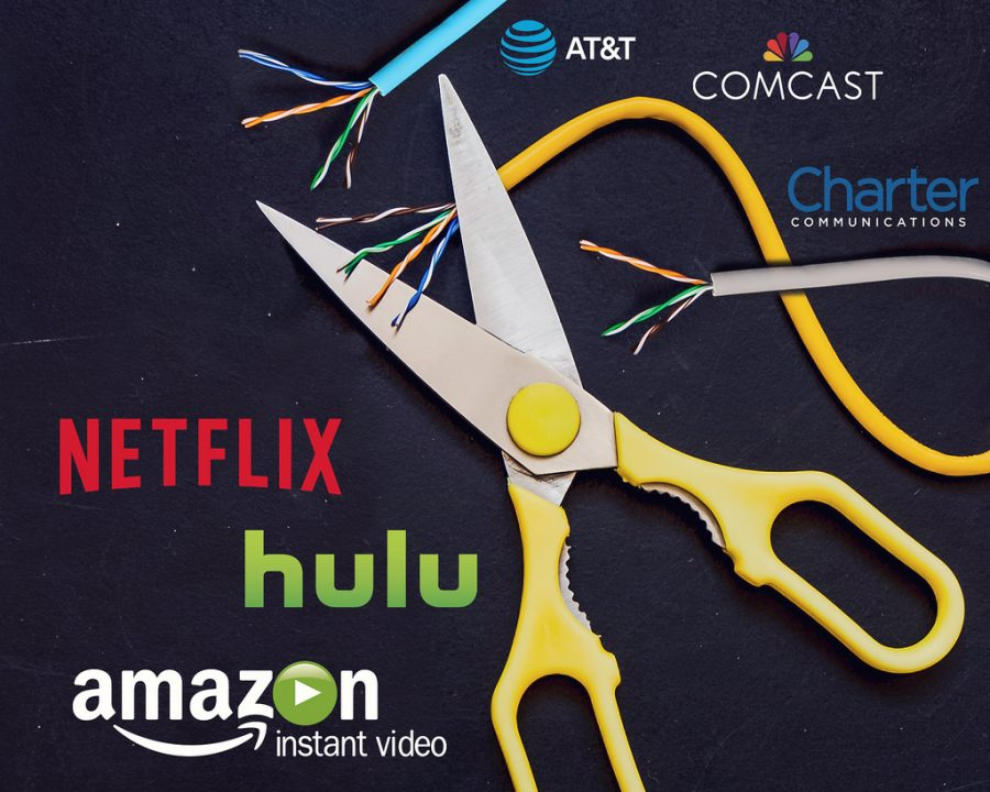 Cutting+the+cord+on+cable+and+switching+to+streaming+devices+has+become+increasingly+popular+among+Americans.+Many+of+these+people+are+looking+for+a+cheaper+alternative+to+watching+their+favorite+TV+shows+and+movies.+