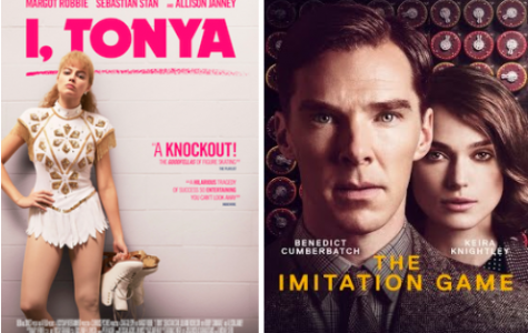 Both featuring their central narrator, these posters for I, Tonya and The Imitation Game both display the tone of their movie. Both of these films are based on extraordinary people facing life in the best way they know how, with each movie sharing the untold story of what had been forgotten throughout history.