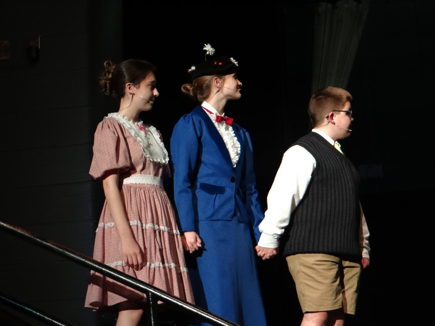 Hard at work preparing to bring Mary Poppins to life, the cast of the Millbrook High production rehearse their various songs and scenes. Make sure to come out and see the show live April 19-21!