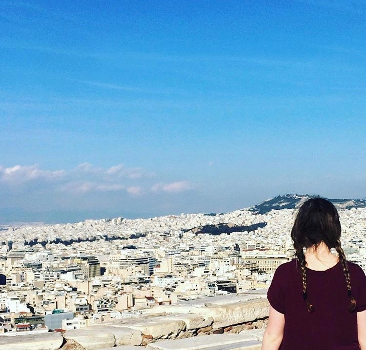 Looking+out+onto+the+city+of+Athens%2C+Greece%2C+Caroline+Cameron+is+a+world+traveler.+She+recently+joined+us+at+Millbrook+from+Munich%2C+Germany.+
