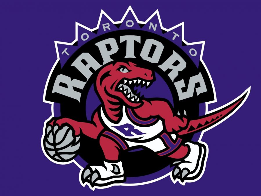 Dribbling a basketball, The sharp-toothed aggressive looking dinosaur became the face of the Raptors franchise. The Raptors joined the league in 1994 and have since become an NBA powerhouse.