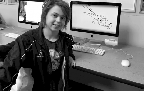 Watching Zoe Peller work any Adobe software is a fantastic show of pure talent! This extraordinary junior stands out from the crowd with not only her work in school, but her work in the community as well, earning her the honor of being named a Creative Cat.