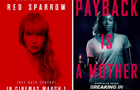 Featuring two brave heroines, Red Sparrow and Breaking In are two fantastic thrillers that came out this year. Though many fans had many worries with Red Sparrow it was, no doubt, one of the most mysterious and suspenseful movies of the season.