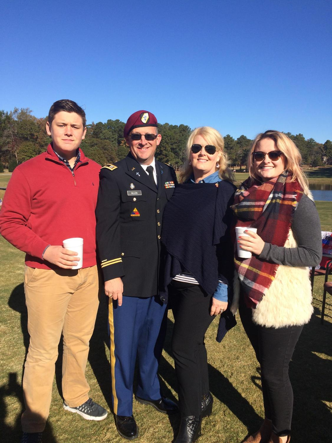 Protecting our country each day, Captain Allen, Henry's dad, is stationed at Fort Bragg alongside hundreds of men and women who fight for our freedom. Memorial Day weekend is a time to reflect on the sacrifice that these men and women make everyday for our freedom.