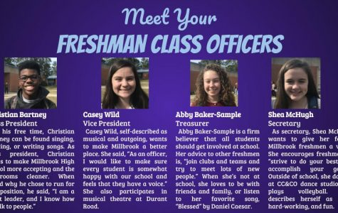Meet Your Newest Freshmen Officers!
