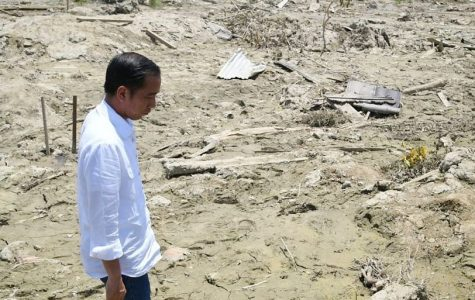 Double disaster strikes Indonesia