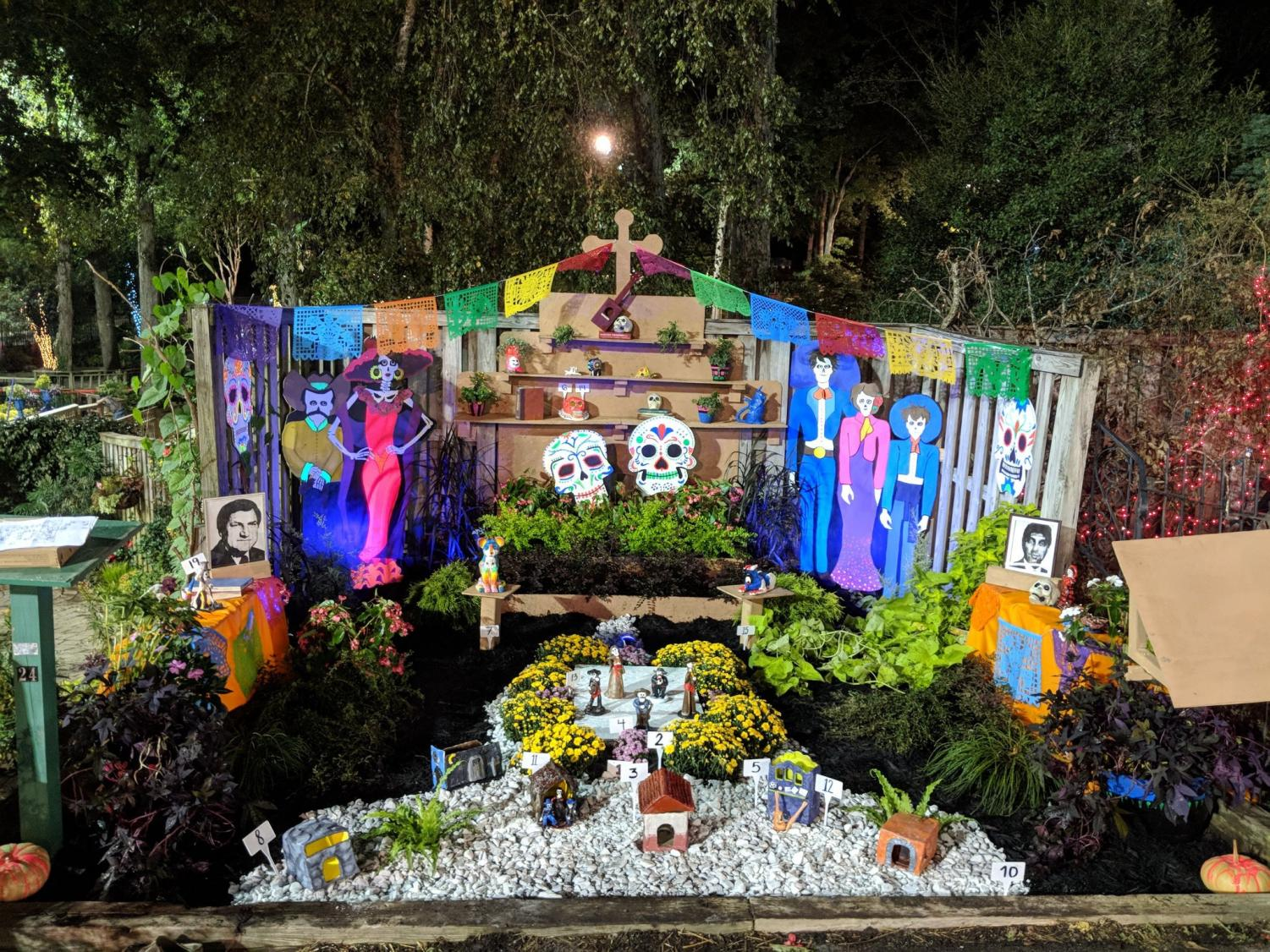 Representing Millbrook's creativity, this garden made by FFA, along with students in Art and Creative Writing, won first prize at the North Carolina State Fair. This was one of the many ways Millbrook students were represented at the fair.