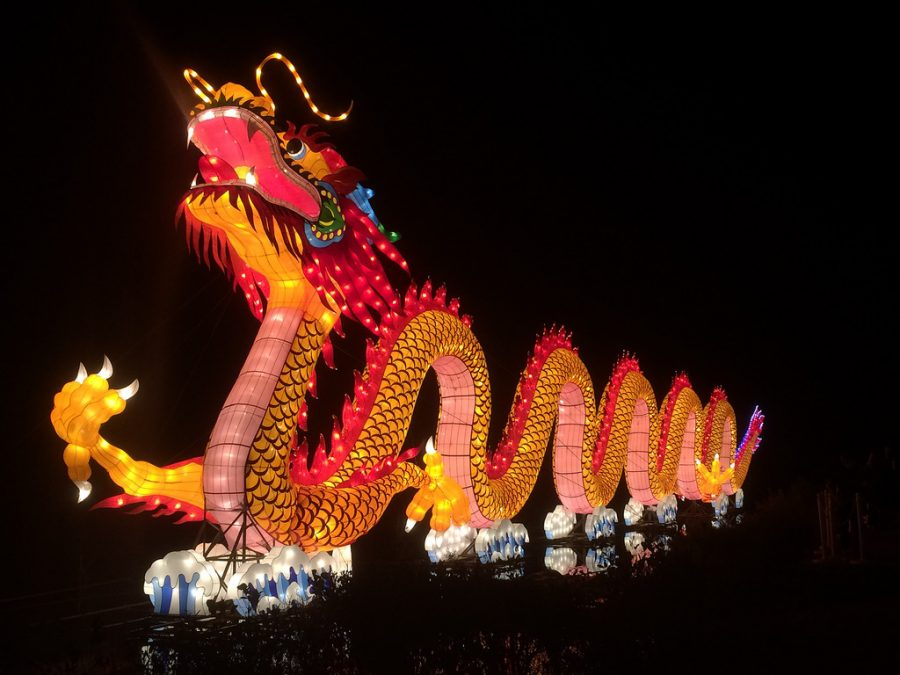 Beaming+with+light%2C+this+display+is+almost+unmistakable.+Flooding+Instagram+feeds+all+throughout+Raleigh%2C+people+recognize+the+dragon+from+the+Chinese+Lantern+Festival.+However%2C+not+all+of+the+greatest+light+displays+in+Raleigh+are+as+well-known.+