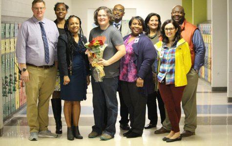 Mrs. Jennifer Broadwell named Millbrook High Teacher of the Year!