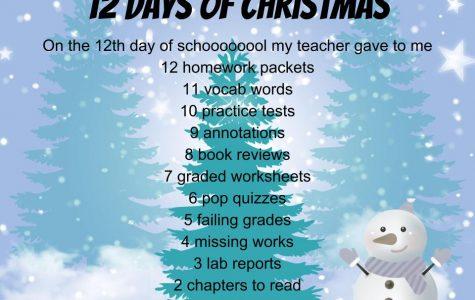 """Millbrookized"" Christmas Carols: Twelve Days of Christmas"