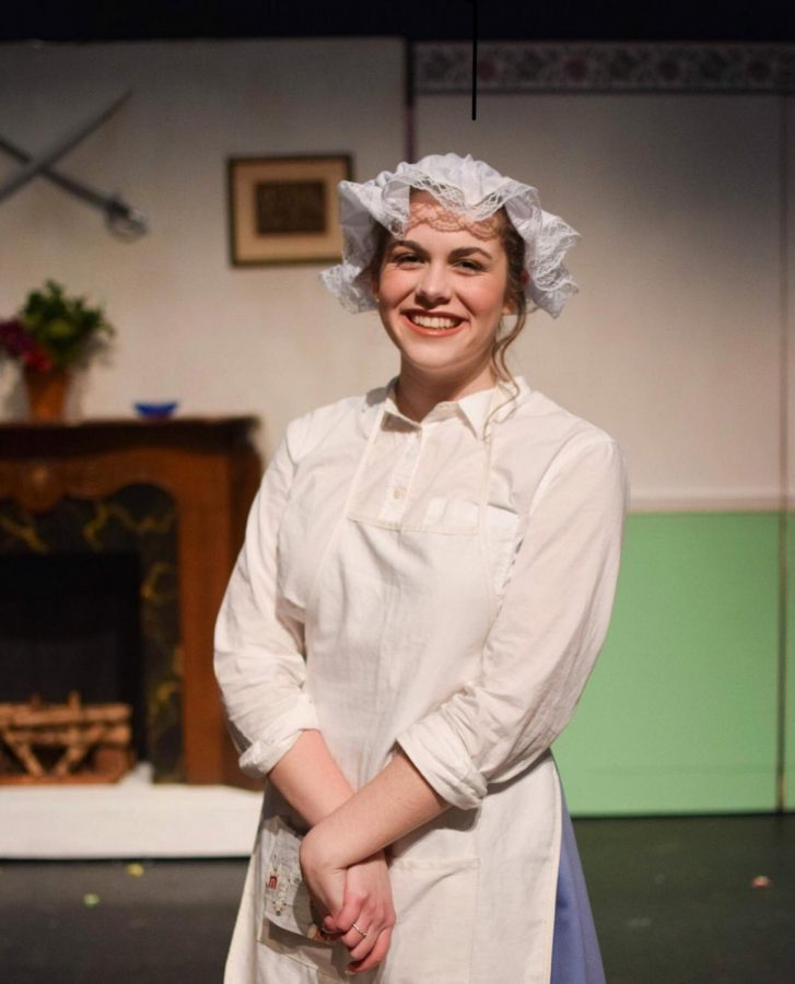 Proudly starring as Mrs. Brill in the hit musical, Mary Poppins, Lily smiles for the camera. She strives for perfection with every role she receives, so get ready to be wowed by upcoming shows featuring this star performer!
