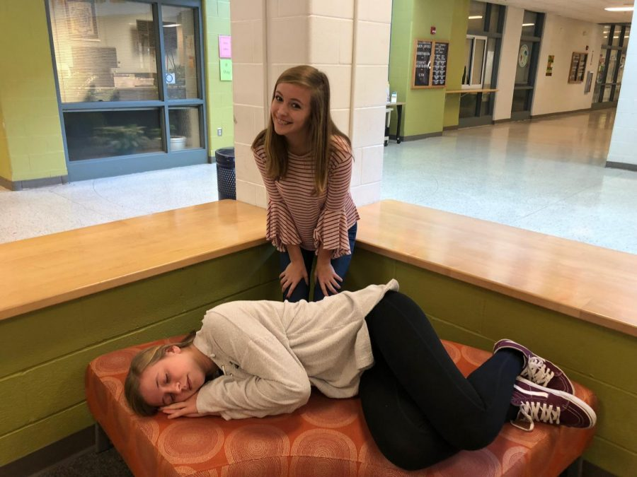 Early school start times affect some students more than others. Grayson is seen fixing her sleep schedule so that she can pass her test, while Emma is ready to start school so that she can get out early to do her extracurricular activities