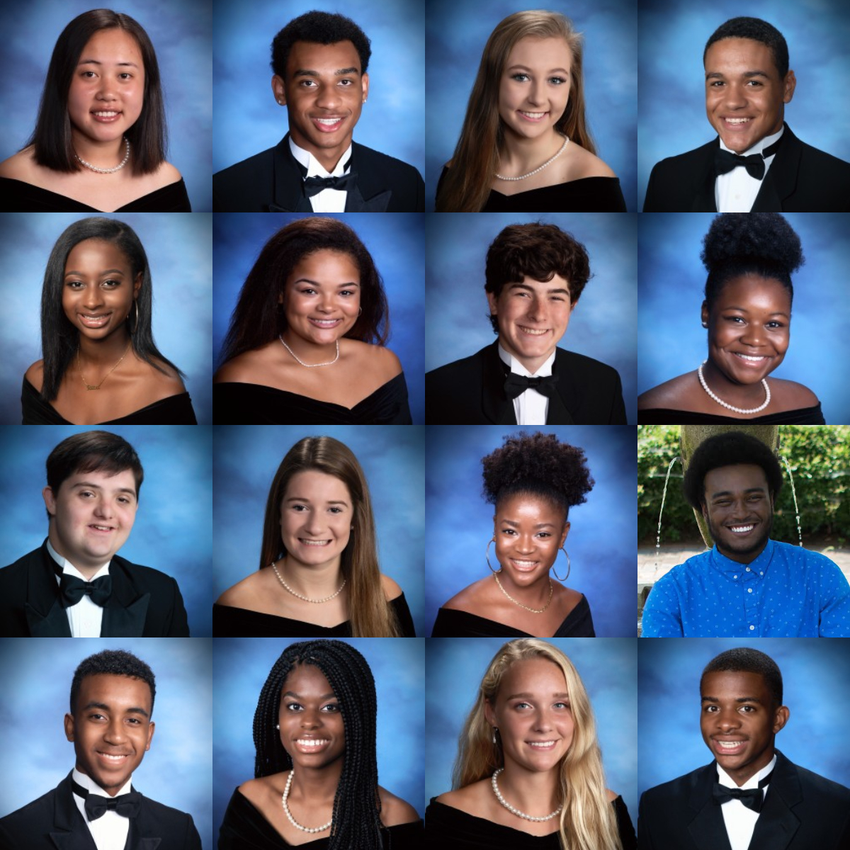 Pictured above, this year's selected Outstanding Seniors come from all parts of the school including the arts, athletics, and academic societies. Their hard work and dedication will be recognized at the WinterFest assembly on February 15.