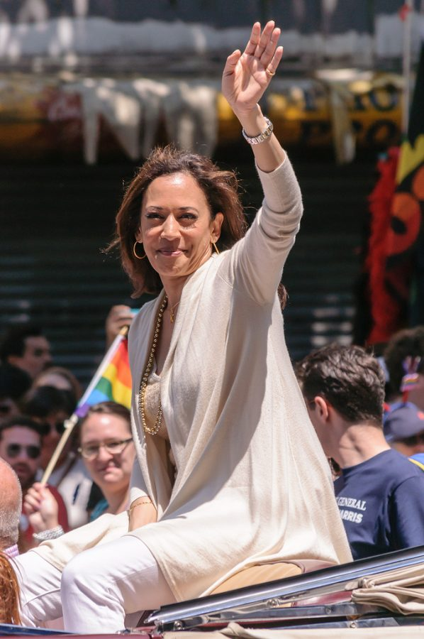 During her time as a former Attorney General of California, Kamala Harris attends a San Francisco Pride event. Her participation in this event helped her gain more left wing support.
