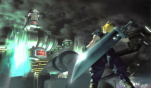 Weiding his iconic Buster Sword, Cloud Strife, the main protagonist of Final Fantasy VII, stands strong in a new 3D world. Though they may not seem like it, these graphics were monumental at its release and were one of the reasons FFVII had such an impact at the time.