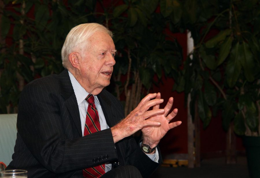 Continuing to spread his ideas to better the United States nearly forty years after serving as President of the United States, Jimmy Carter, shares his ideas to improve the US economy. During his time as president, Carter aimed to reduce both the inflation and unemployment rates in the United States.