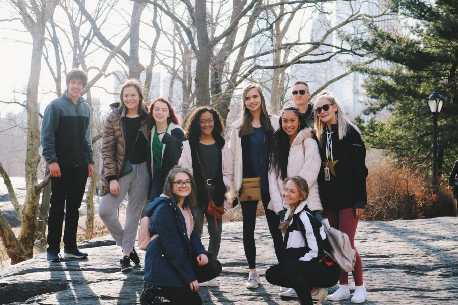 Dance and drama Wildcats visit New York