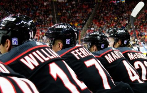 Looking onto the ice, captain Justin Williams was a crucial part of the team's success this season. The Canes face off against the Washington Capitals tonight in their first playoff game in over 10 years.