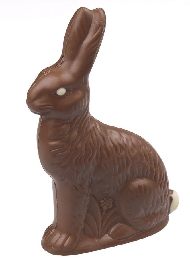 Buying+Easter+Bunnies+in+the+form+of+chocolate+has+become+a+tradition+across+the+United+States+as+a+celebration+of+Easter.+The+spread+and+increased+importance+of+the+Easter+Bunny+has+led+to+it+becoming+a+staple+of+the+Christian+holiday.