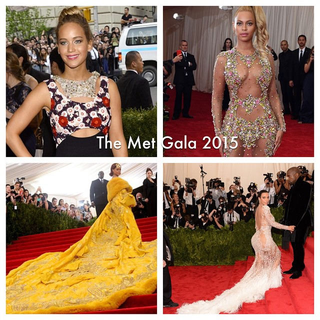 "Dressed in some of the most popular name brands to date, stars like Rihanna and Beyoncé walk the red carpet for the 2015 Met Gala theme ""Through the Looking Glass."" The 2019 Met Gala was named as one of the most anticipated events of the year, especially with the grand opening of the Costume Institute's ""Camp"" exhibition in the Metropolitan Museum of Art."