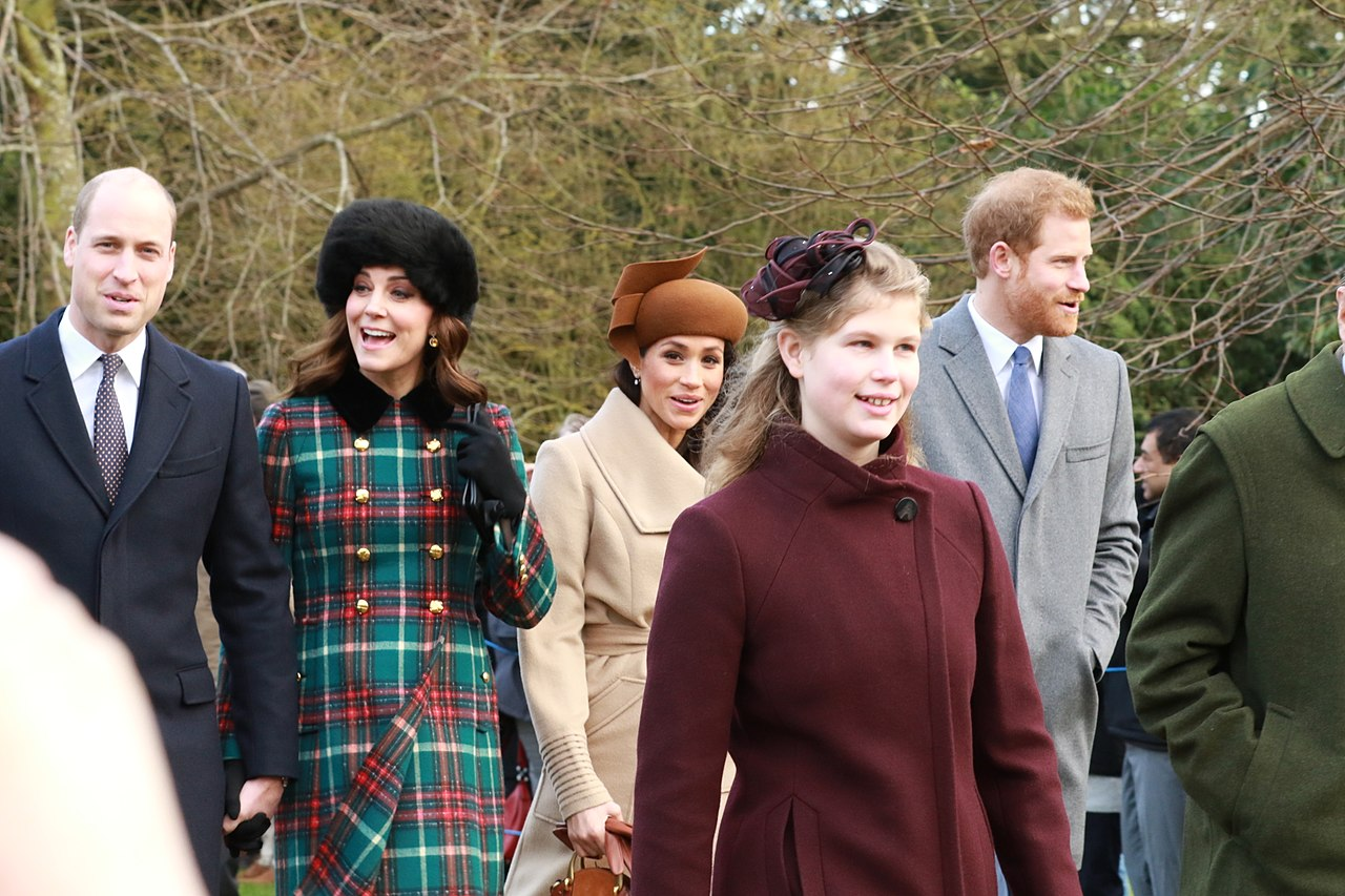Walking alongside each other, four members of the royal family are pictured here together while attending a 2017 Christmas parade. Since this day nearly a year and a half ago, the Duke and Duchess of Sussex have broken many news headlines, including the most recent ones regarding the birth of their son.