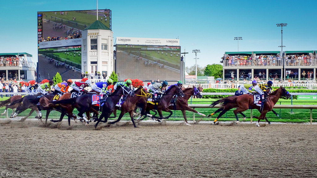Racing towards the finish line, the 2014 Kentucky Derby participants competed with California Chrome coming out on top. The Derby began in 1872, and this year was definitely set apart from the rest!