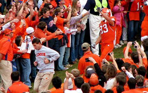 Running down the famous hill at a home football game in Death Valley, Dabo Swinney leads his team to the field to take on their opponent. Swinney is a tremendous football coach, leader, and all-around mentor to his players, allowing him to transform Tiger football for generations to come.