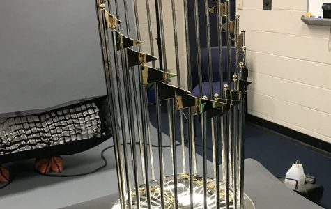 Winning the World Series is no easy feat, which is why every year one team gets to bring this into their stadium forever. Fighting hard this season, the Nationals hope to keep bringing the trophy into their building.