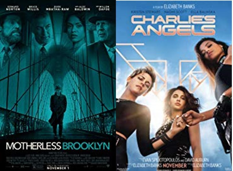 Showcasing heroes, these posters show strong and smart characters that will use their detective skills to save the day. Motherless Brooklyn and Charlie's Angels are in theatres this month and are sure to keep their audiences highly entertained.