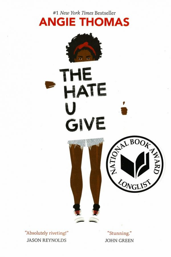Showcasing its Longlist's National Book Award, this cover of The Hate U Give by Angie Thomas is familiar to many high school students. This book was among many read last year by Wildcat Reading Society members.