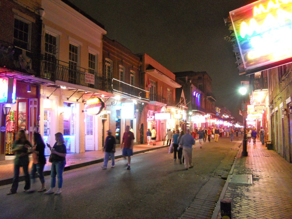 When night falls in New Orleans' French Quarter, streets are typically still full of people. When Sunday's shooting occurred, many people were out and about despite it being 3 am.