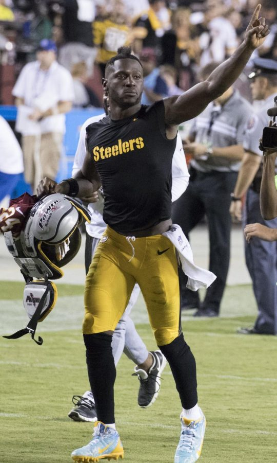 Antonio Brown is a professional rapper…for now?