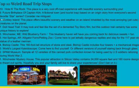 Top ten weird road trip stops