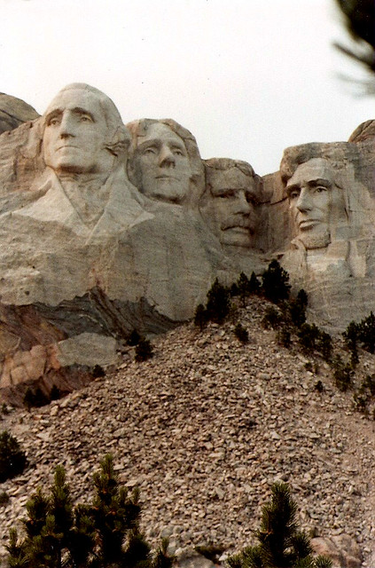 Remembering past presidents, Mount Rushmore is a monument showing presidents who left a big impact on America. As you can see, George Washington and Abraham Lincoln are both represented. Presidents' Day is a perfect time to reflect on the past and how important it is to further our growth.