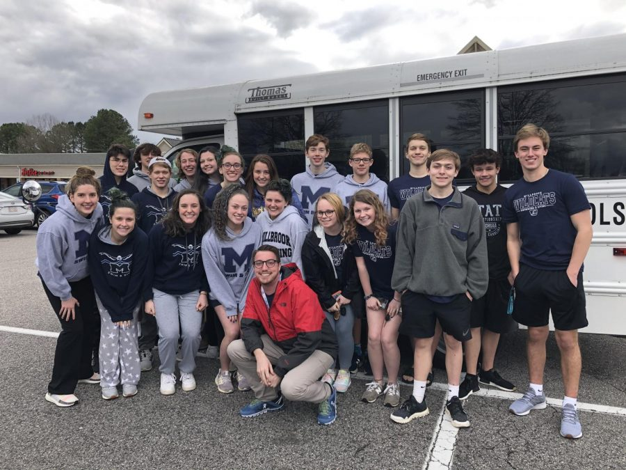 Millbrook Swim and Dive concludes their 19-20 season