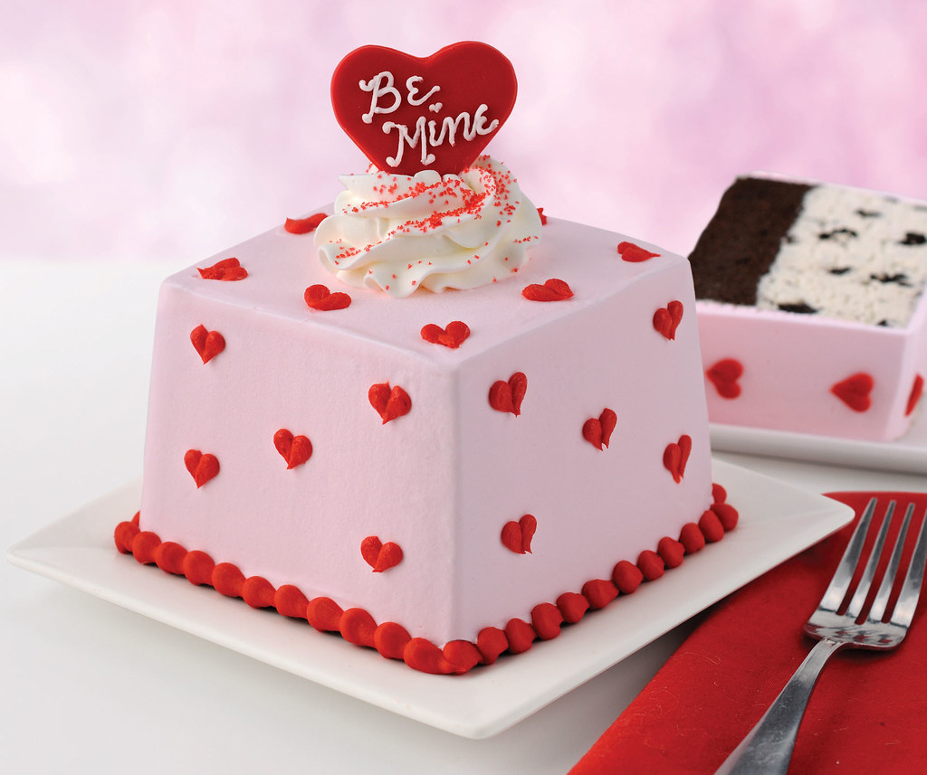 Decorated very professionally, this cake appeals to everyone even if they do or do not celebrate Valentine's Day. With inspiration for Valentine's themed cakes on a range of apps, making or buying cake might be the nice treat of self-indulgence to share with a loved one.